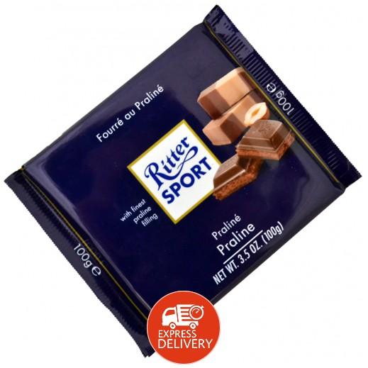 ريتر سبورت - شوكولاتة محشوة بحلوى اللوز 100جم