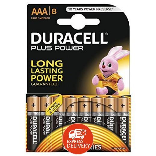 دوراسيل - بطارية الكالين مقاس AAA - عبوة 8 حبة
