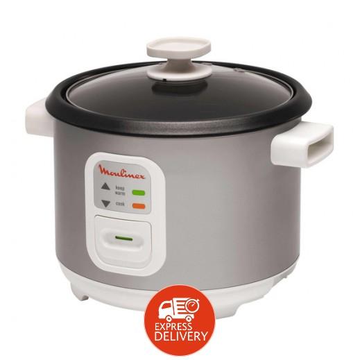 مولينكس – طباخ الأرز 1.8 لتر 600 واط – فضي