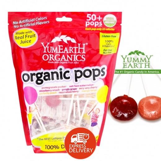 يامي إيرث – حلوى عضوية طبيعية بنكهة الفواكه 241 جم