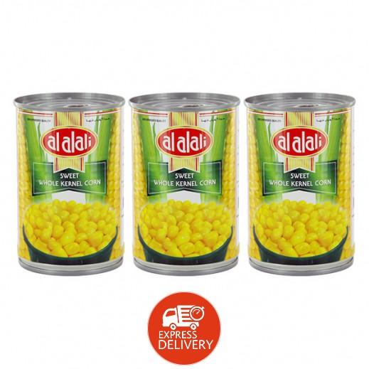 العلالي – حبوب ذرة كاملة حلوة 3 حبة × 425 جم