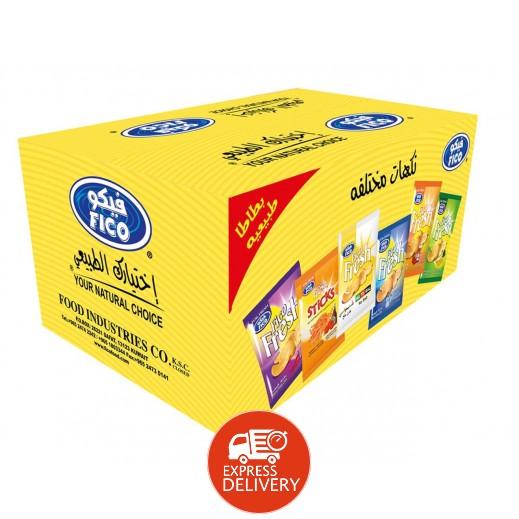 فيكو – بطاطا طبيعية نكهات متنوعة 16 جم × 20 حبة