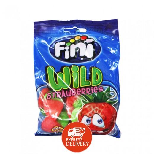 فيني – حلوى الفراولة البرية 100 جم