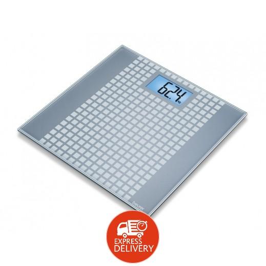بيورير – ميزان حمام سكويرز زجاج موديل GS 206