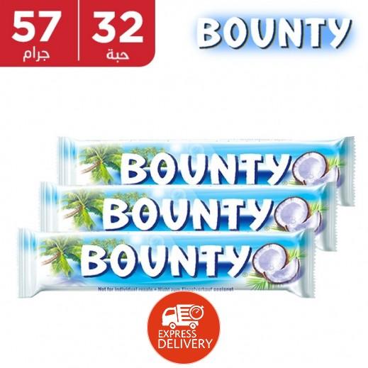 باونتي - شوكولاتة - كرتون 32 حبة × 57 جم