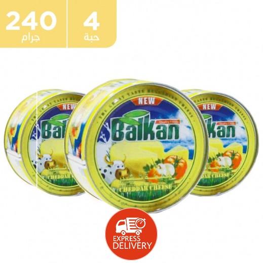 بلقان - جبنة كريم قابلة للدهن 3 × 240 جم