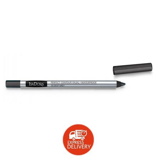ايزادورا – قلم كحل كاجال ضد الماء بظل رمادي عميق (39 Deep Grey)