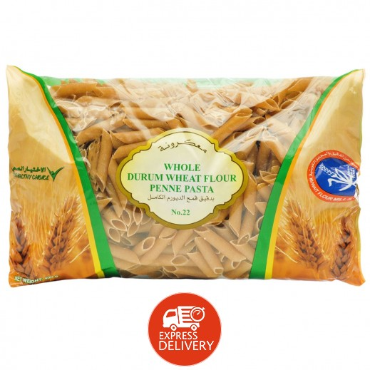 KFM Whole Durum Wheat Flour Penne Pasta (No 22) 400 g