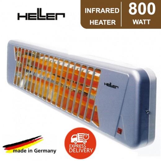 هيلر - دفاية بالاشعة تحت الحمراء 800 واط - رمادي