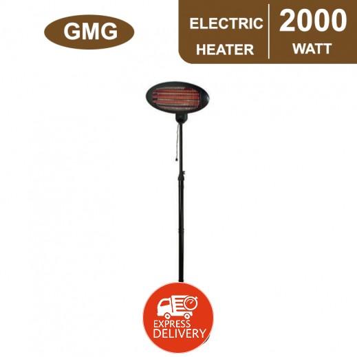 جي ام جي – دفاية باتيو كهربائية 2,000 واط - أسود