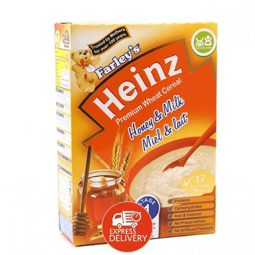 هاينز - فارليز حبوب قمح عسل وحليب - المرحلة الأولى (من سن 6 أشهر) 250 جم