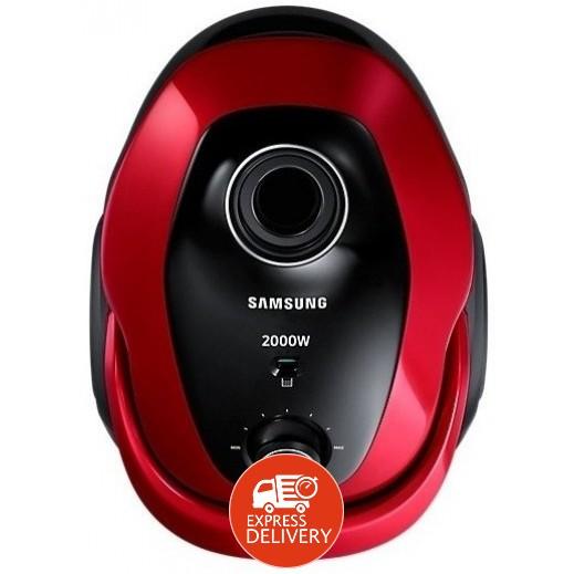سامسونج – مكنسة كهربائية 2.2 لتر 2000 واط – أحمر