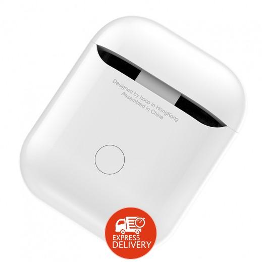 هوكو - علبة حماية وشحن لسماعات AirPods – ابيض