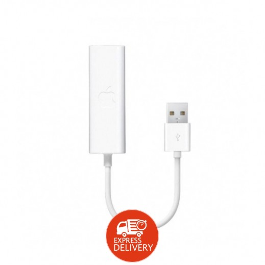 محول ابل USB ETHERNET (مال بوك AIR 2010) رقم MC704ZM/A (منتج اصلي من ابل)