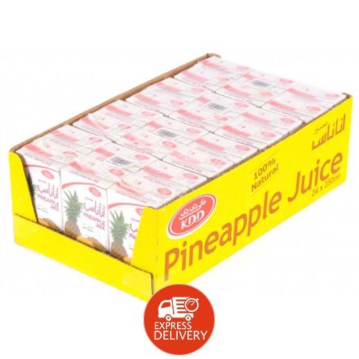 كى دى دى - عصير الأناناس 250 مل ( 24 حبة )