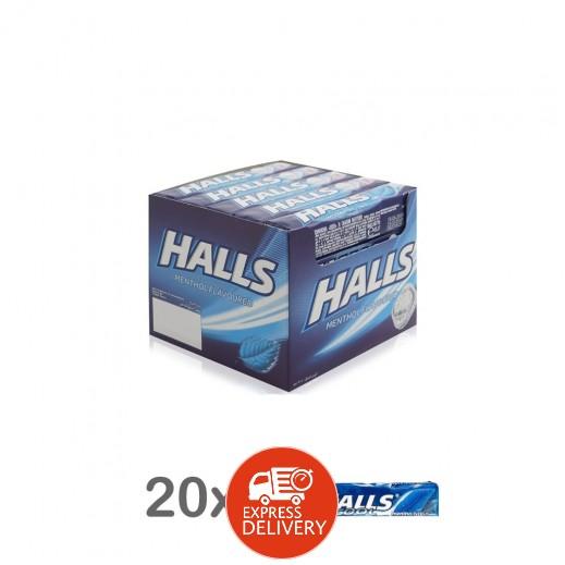 هولز - حلوى جافة سادة 9 قطع بنكهة النعناع 20 × 25.2 جم