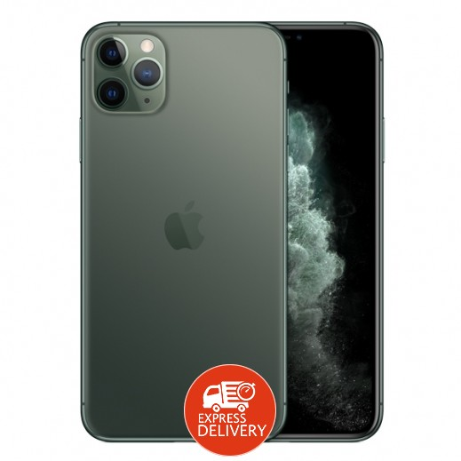 ابل – ايفون 11 برو ماكس سعة 256 جيجابايت بشريحة e-sim - اخضر