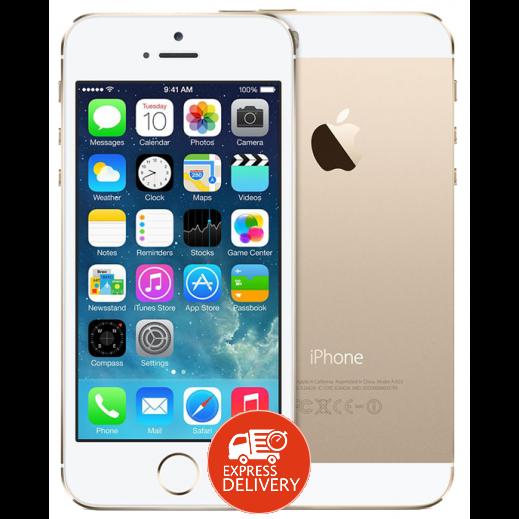 ابل - ايفون 5 اس LTE سعة 16 جيجابايت – ذهبي