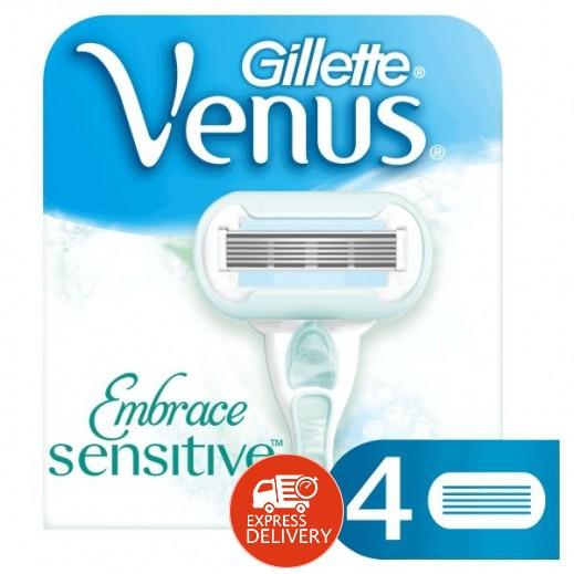جيليت – شفرات حلاقة فينوس إمبريس للسيدات 4 حبة