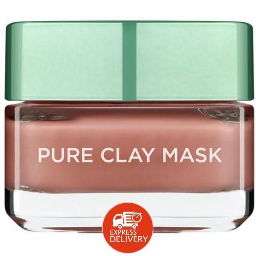 L'Oreal Red Algae Pure Clay Face Mask 50 ml