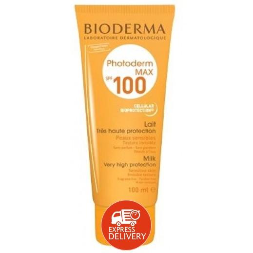 """بايوديرما – مستحلب """"فوتوديرم"""" ماكس ليت SPF100"""" لأقصى حماية من الشمس 100 مل"""