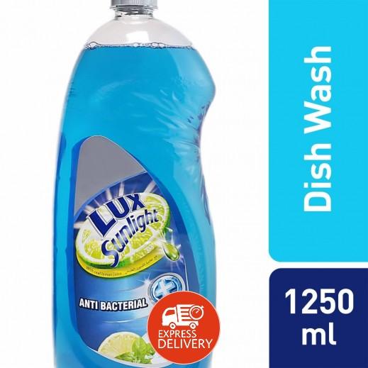 لوكس – سائل غسيل الصحون برائحة الليمون والنعناع 1.25 لتر