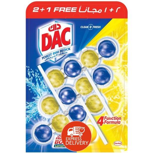 داك - مطهر المرحاض برائحة أقوى 150 جم (2+1 مجاناً)
