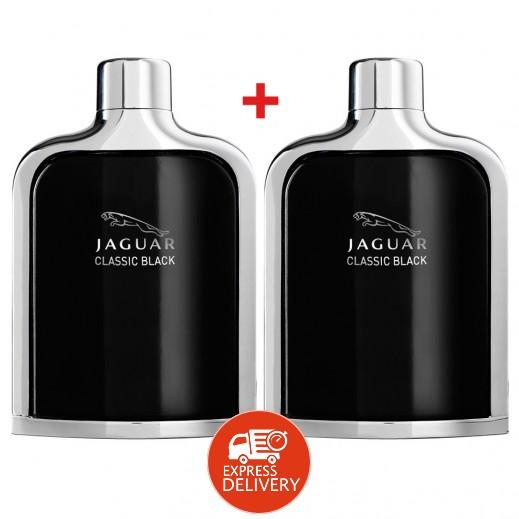جاكوار - عطر كلاسيكي أسود للرجال 100 مل (2 حبة)