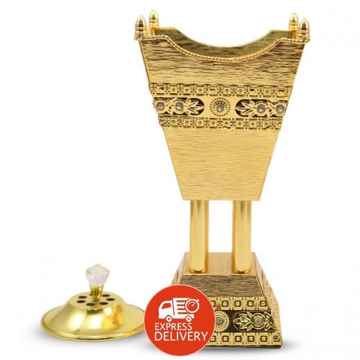 مبخرة ذهبية مقاس كبير