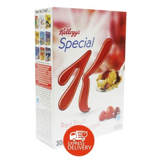 كلوقز – رقائق الفطور سبيشيال K بالفواكة الحمراء 30 جم