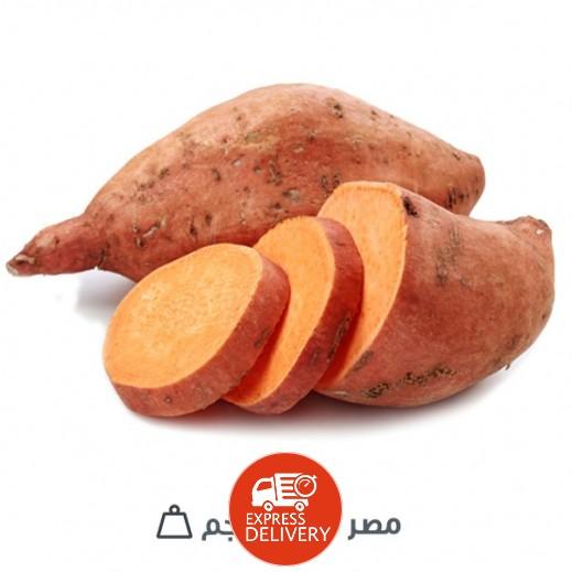 بطاطا حلوة طازجة (مصر) 1 كجم تقريبا