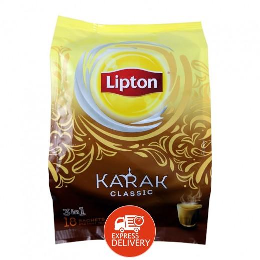 ليبتون - شاي لاتيه كلاسيك 18 × 20.3 جم