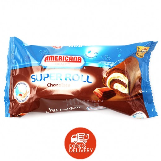 أمريكانا - سوبر رول بالشوكولاتة -  85 جم