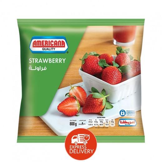 أمريكانا - فراولة مجمدة 800 جم
