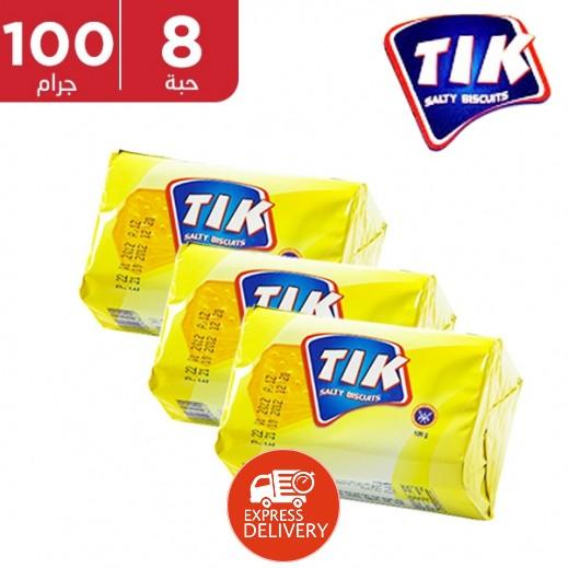 المطاحن - بسكويت تك المملح 100 جم (8 حبة)