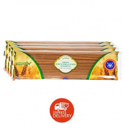 المطاحن – معكرونة سباغيتي بدقيق القمح الكامل 400 جم (4 حبة)