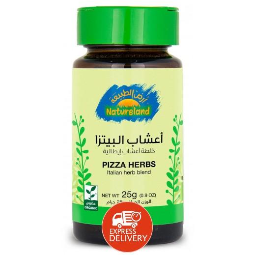 أرض الطبيعة - أعشاب البيتزا 25 جم