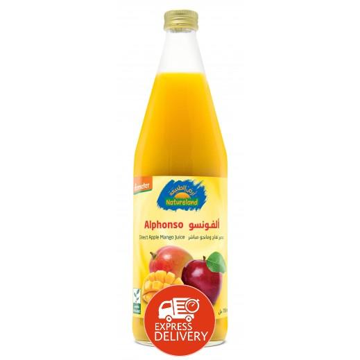 أرض الطبيعة - عصير التفاح والمانجو 750 مل