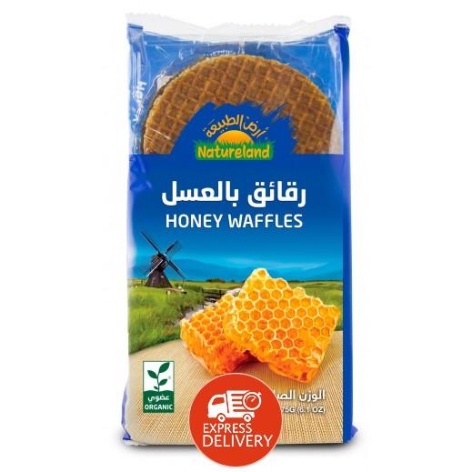 أرض الطبيعة  - رقائق بالعسل 175 جم