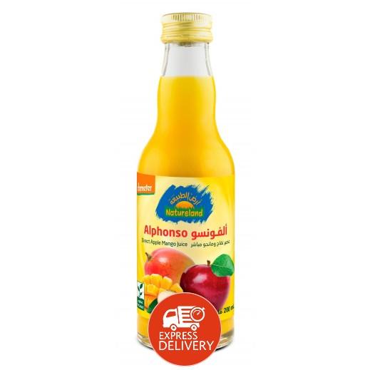 أرض الطبيعة - عصير التفاح والمانجو 200 مل