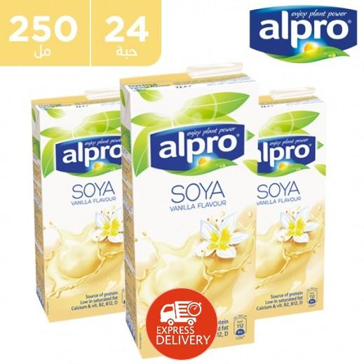 ألبرو – مشروب الصويا بالفانيلا 4 × 250 مل