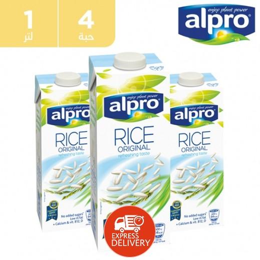ألبرو – مشروب الأرز أوريجينال 4 × 1 لتر
