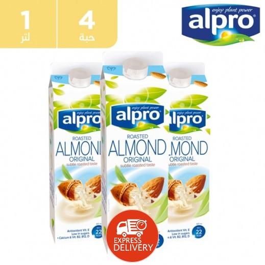 ألبرو – حليب اللوز الأصلي 4 × 1 لتر