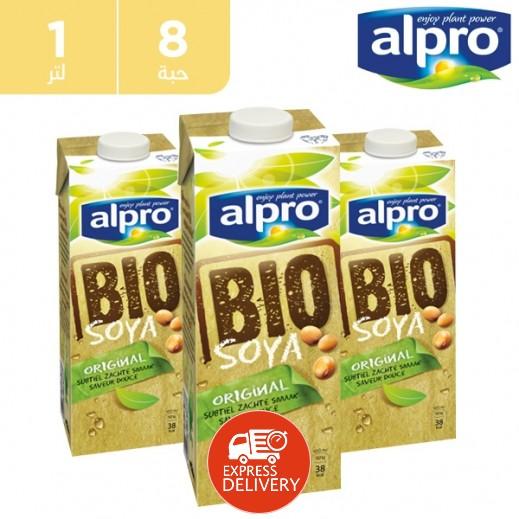 ألبرو – مشروب صويا بيو 8 × 1 لتر