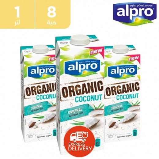 Alpro Bio Original W Rice 8 x 1 L