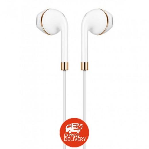 Hoco L8 Type-C Earphones - White