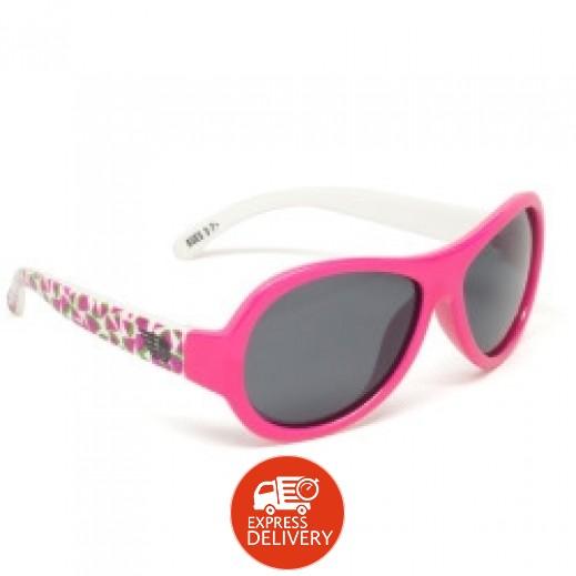 بيبيتورز – نظارات شمسية مستقطبة للأطفال - وردي بري (0 - 3) سنوات