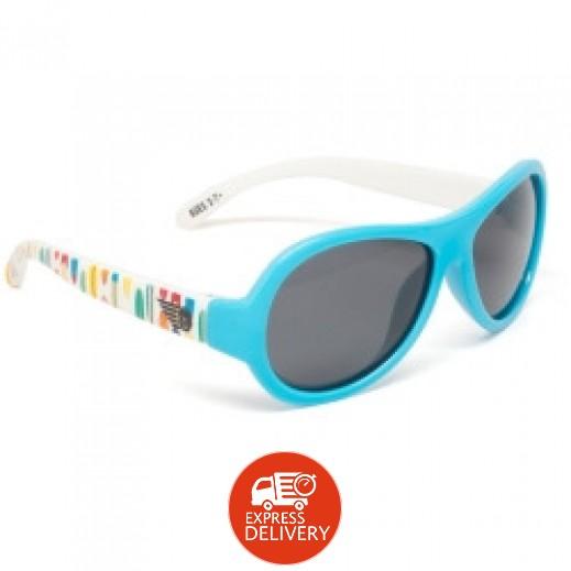 بيبيتورز – نظارات شمسية مستقطبة للأطفال - أزرق بري (3 - 7) سنوات
