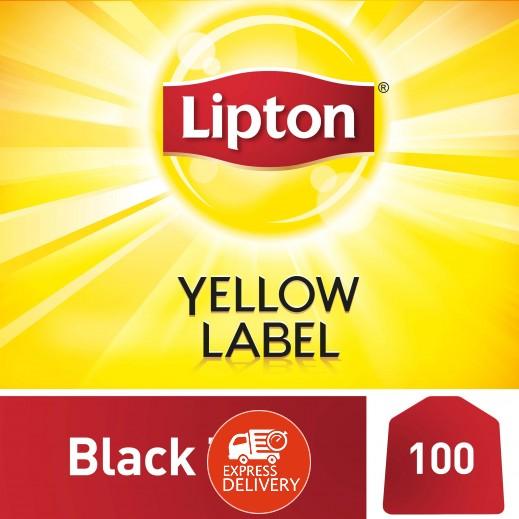 ليبتون – شاي العلامة الصفراء 100 كيس