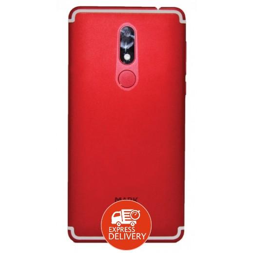 مارك – هاتف ذكي مارك 5 ذاكرة تخزين 16 جيجابايت – أحمر